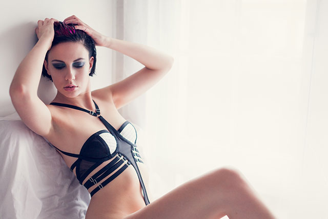 Leurre Lingerie Bespoke Luxury Boudoir Underwear shoot by Faby and Carlo