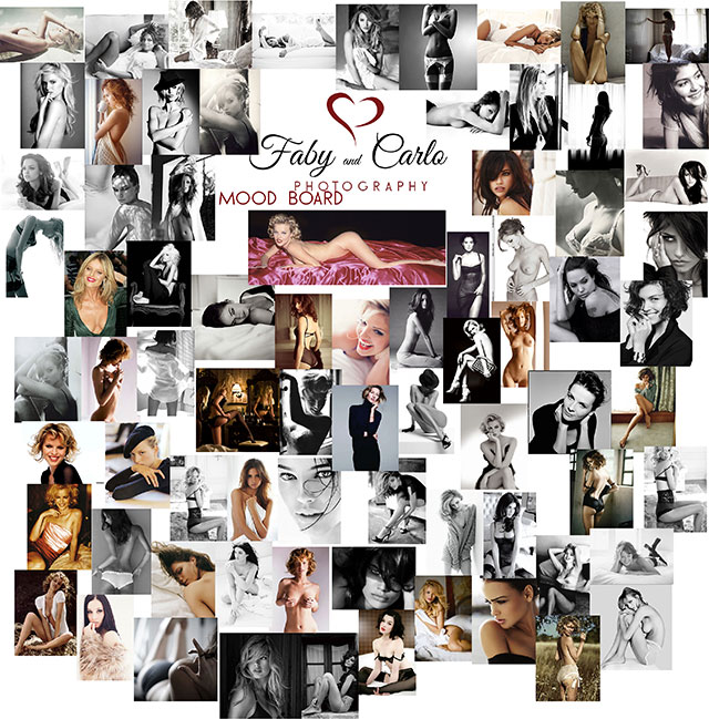 Mood Board for Mrs A by Fabiana and Carlo Nicora at fabyandcarlo.com