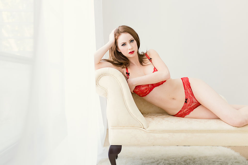 The Fuji x100s in the hands of a boudoir photographer by Fabiana and Carlo Nicora at London Boudoir Photography