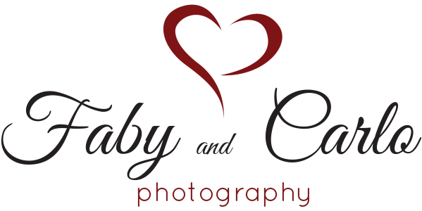 Faby and Carlo Photography Logo, London