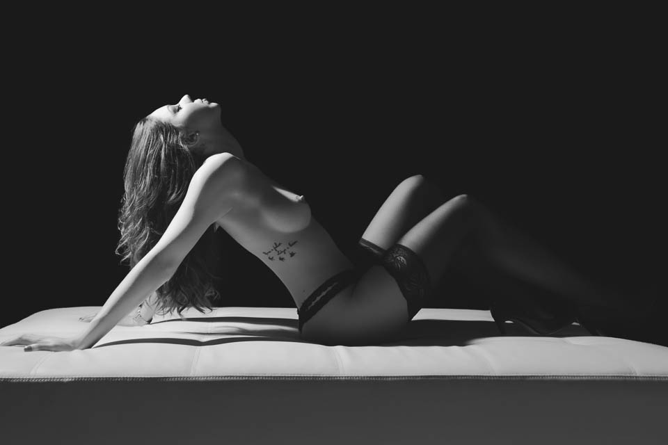 Moody portraits by Faby and Carlo, perfect for black and white art nudes