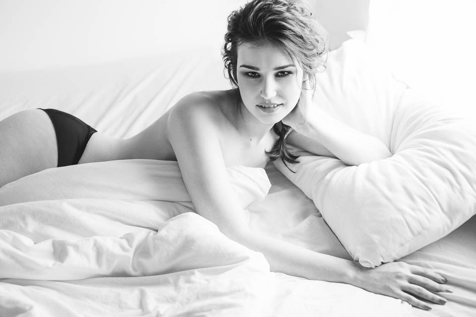 Glamour photography or boudoir? by Faby and Carlo