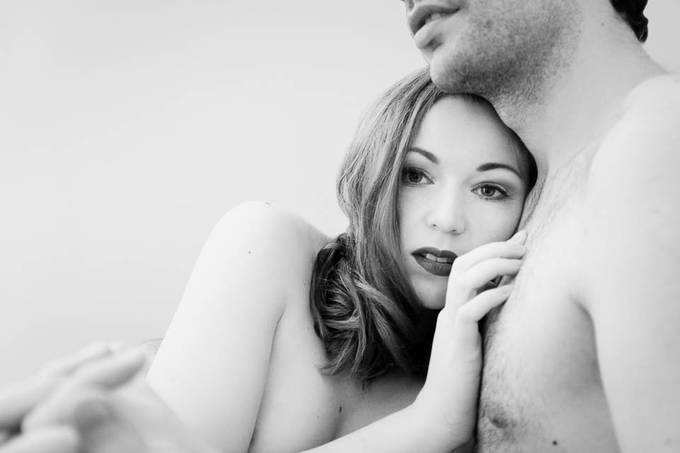 long term relationship by Faby and Carlo at London boudoir photography