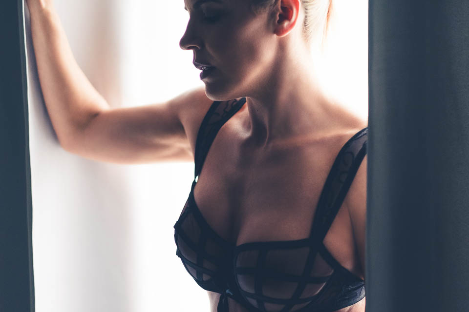 Being photographed by Faby and Carlo at London Boudoir Photography